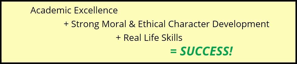 Riverbend Academy Success Formula